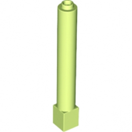 LEGO 6116229 COLONNE 1X1X6 - SPRING YELLOWISG GREEN