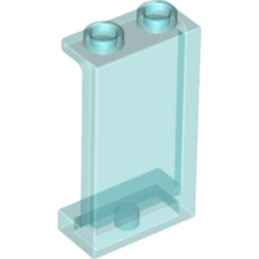 LEGO 6172681 WALL ELEMENT 1X2X3 - BleuTransparent