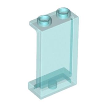 LEGO 6172681 WALL ELEMENT 1X2X3 - BleuTransparent