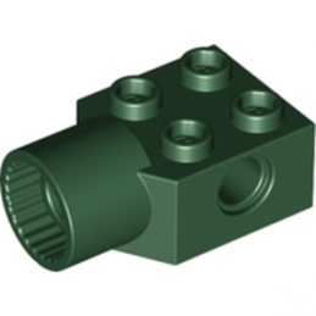 LEGO  4257583 BRICK 2X2 Ø4.85 FEMALE - Earth Green