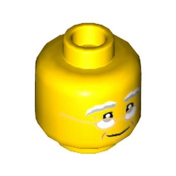 Lego® 6185501- Tête Homme (Grand père)