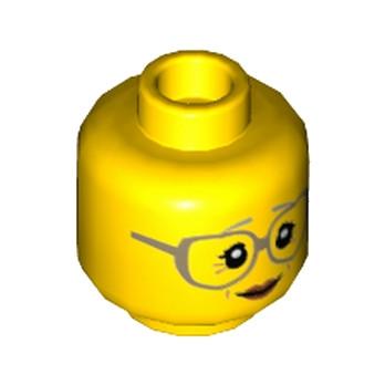 LEGO 6153221 TETE FEMME (GRAND MERE) lego-6153221-tete-femme-grand-mere ici :