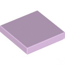 LEGO 6170952 PLATE LISSE 2X2 - LAVENDER