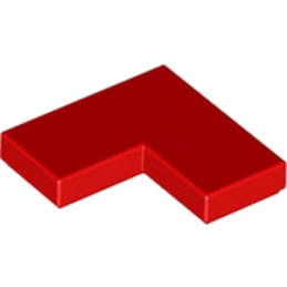 LEGO 6078641 PLATE LISSE ANGLE 1X2X2 - ROUGE