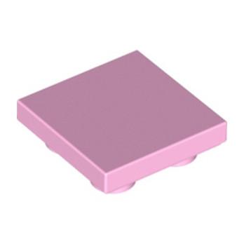 LEGO 6101937 - Plate Lisse 2x2 Inversé - Rose Clair