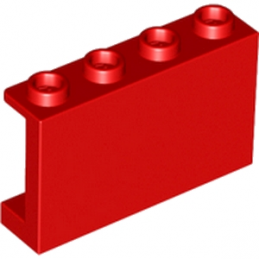 LEGO 6049737 - WALL ELEMENT 1X4X2 - ROUGE