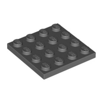 LEGO 4211089 PLATE 4X4 - DARK STONE GREY