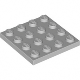 LEGO 4211403 PLATE 4X4 - MEDIUM STONE GREY