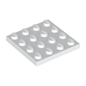 LEGO 303101 PLATE 4X4 - BLANC