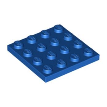 LEGO 303123 PLATE 4X4 - BLEU