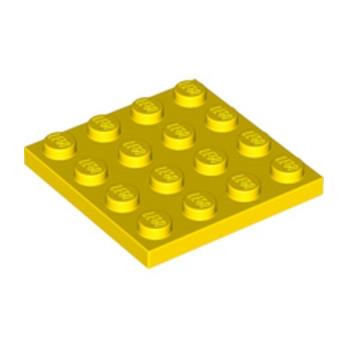 LEGO 303124 PLATE 4X4 - JAUNE
