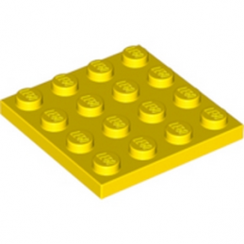 LEGO 4243817 PLATE 4X4 - YELLOW