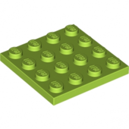 LEGO 4504850 PLATE 4X4 - Bright Yellowish Green