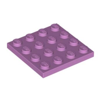 LEGO 6133296 PLATE 4X4 - Médium Lavendeur