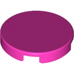 LEGO 6174946 - Plate Lisse 2X2, Rond - Rose