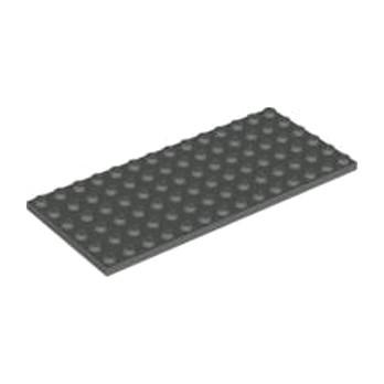 LEGO 4210720 PLATE 6X14 - Dark Stone Grey