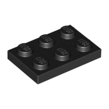 LEGO 302126 PLATE 2X3 - NOIR