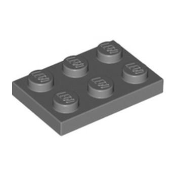 LEGO 4211043 PLATE 2X3 - Dark Stone Grey