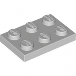 LEGO 4211396 PLATE 2X3 - Medium Stone Grey