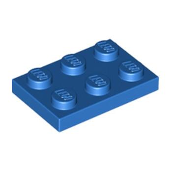 LEGO 302123 PLATE 2X3 - BLEU