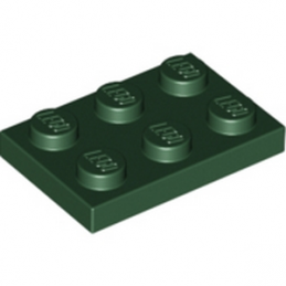 LEGO 4254401 PLATE 2X3 - Earth Green