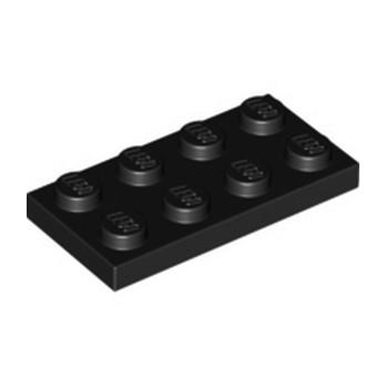LEGO 302026 PLATE 2X4 - BLACK