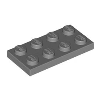 LEGO 4211065 PLATE 2X4 - Dark Stone Grey