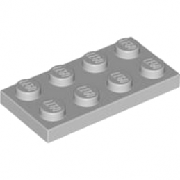 LEGO 4211395 PLATE 2X4 - Medium Stone Grey