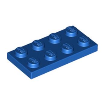 LEGO 302023 PLATE 2X4 - BLEU