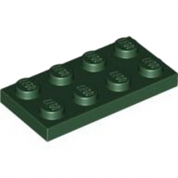 LEGO 4245560	PLATE 2X4 - Earth Green
