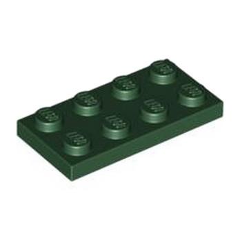 LEGO 4245560PLATE 2X4 - Earth Green lego-4586057-plate-2x4-earth-green ici :