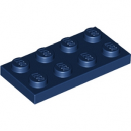 LEGO 4198543	PLATE 2X4 - Earth Blue