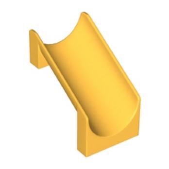 LEGO 6177209 - Petit Toboggan 6x6x6 - Flame Yellowish Orange