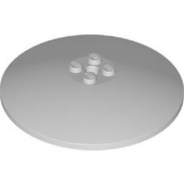 LEGO 6096944 ROUND PLATE Ø64X9.6 - MEDIUM STONE GREY