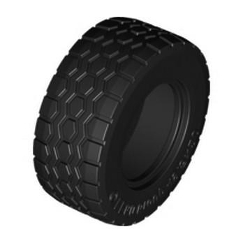 LEGO 6055626 - PNEU 49.53x20 TRUCK - NOIR
