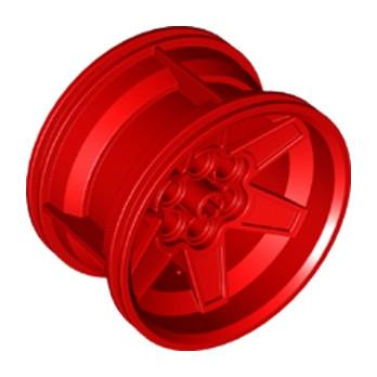 LEGO 6149984 JANTE Ø 56 X 34 - ROUGE