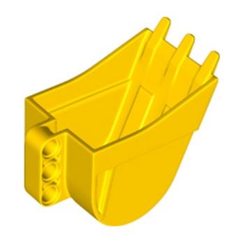 LEGO 6145856 - Accessoire pelleteuse / Godet  4X5X7 W/ 4.85 - Jaune