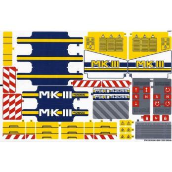 Stickers / Autocollant Lego Technic - 42055