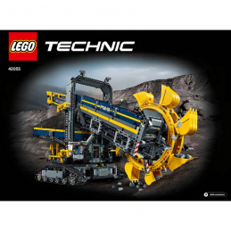 Notice / Instruction Lego TECHNIC - 42055
