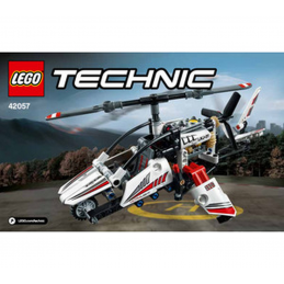 Notice / Instruction Lego TECHNIC - 42057