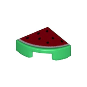 LEGO 6151221 IMPRIME 1/4 PASTEQUE - ROUGE