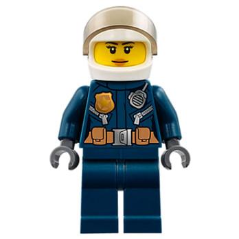 Mini Figurine LEGO® : City - Policière