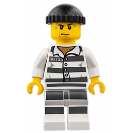 Mini Figurine LEGO® : City - Voleur