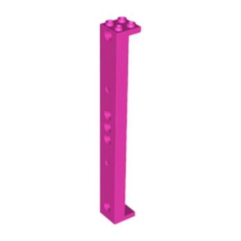 LEGO 6150314 - Support 2X2X16 W. Ø4.85 - Rose