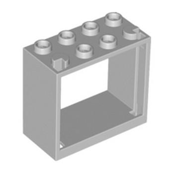 LEGO 6141496 - Fenetre 2x4x3 - Médium Ste Grey