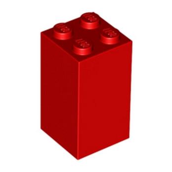 LEGO 4107634 BRIQUE 2X2X3 - ROUGE