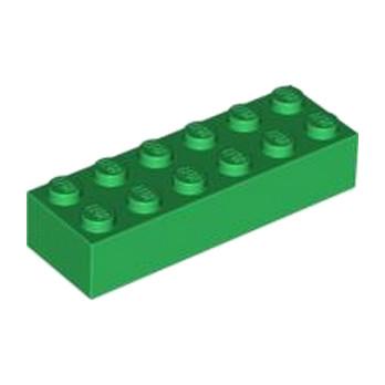 LEGO 4181135 BRICK 2X6 - DARK GREEN
