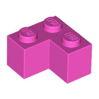 LEGO 6173741 BRIQUE D'ANGLE 1X2X2 - ROSE