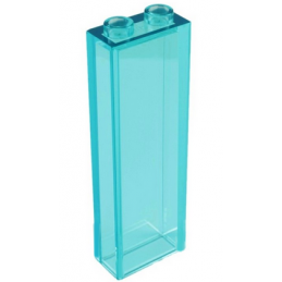 LEGO 6251284 BRIQUE 1X2X5 - BLEU TRANSPARENT