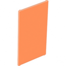 LEGO 4585643 VITRE POUR FENETRE1X4X6 - ORANGE FLUO TRANSPARENT
